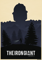 Iron Giant Poster by Deluxepepsi