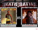 DEATH BATTLE, BILL OVERBECK VS DR. ZOE MCCONNELL by MAGANNEAL