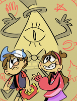 Gravity falls by cartoonwho