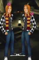 Muggle Fred And George Weasely by Xiaolin101