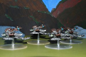 Necron Destroyers Side by 12jack12