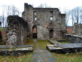 Paide Vallitorn and Ruins of the Order Castle 11 by MASYON