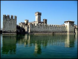 the fortress on the water by frei76