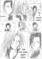 Sephiroth and Zack Scene by Alasse-Tasartir