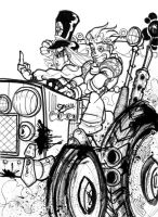 Tractor Drivin by UndeadMadhatter