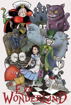 Eva in Wonderland by RyanBayliss