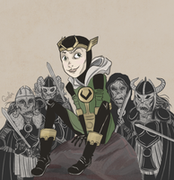 Kid Loki by monkette