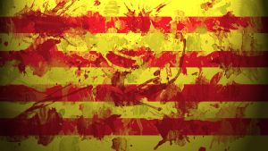 Catalonian Flag Wallpaper by GaryckArntzen