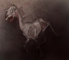 Zombie Horse by TheImageCrafter