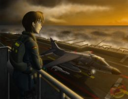 Patrolling the North Sea by Panzerfire