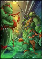 TMNT Colored by marvelmania