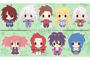 PKCP - Tales of Symphonia by yesbutterfly