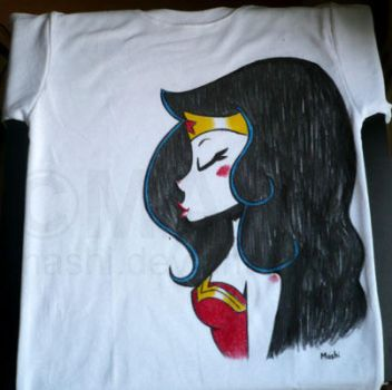 Wonder Woman Tee by mashi