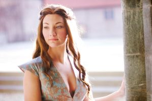 Margaery Tyrell, Green Lions dress. by Santatory