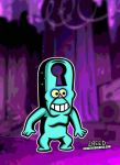 Keyhole from Gravity Falls! by CreedStonegate