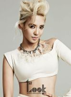 Hyoyeon amazing first look [SNSD] by LuannaMaria