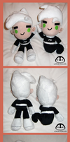 Danny Phantom Plush Dolls by Lemonpez