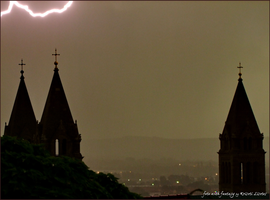 ...the storm over a cathedral... by lisztikriszti