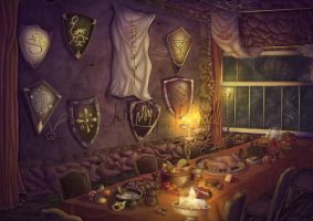 BANQUET IN LANCELOT by Juddy-Wood