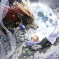 Wolf Moon by SheltieWolf