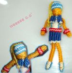 Macrame doll by Cheila