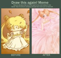 Draw This again Meme - Fall Usagi by Kitanya
