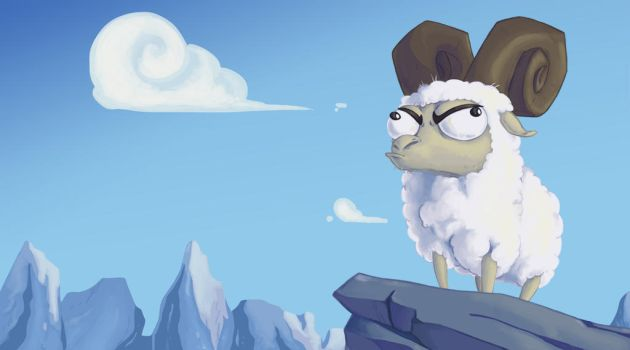 King of the Mountain by Linoleumas