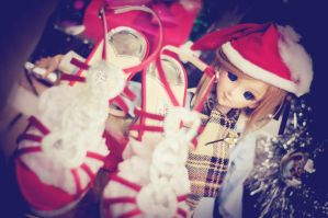 stole these red shoes by Kodomut