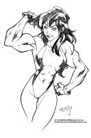 She-Hulk by NeMAfronSPAiN by elee0228