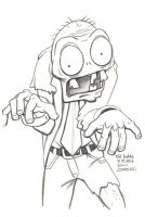Daily Sketches Zombies by fedde