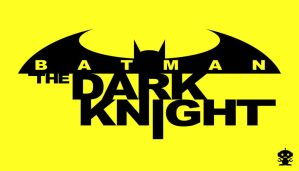 2011 The New 52 The Dark Knight Comic Title Logo by HappyBirthdayRoboto