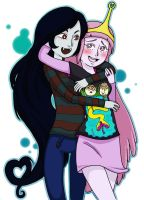 Bubbline cuteness! by kchuu