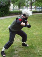 Me as Hatake Kakashi by PumaDAce83