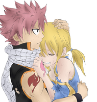 natsu and lucy by Horizont8