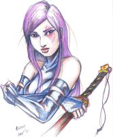 PSYLOCKE07 by Mightyfox-Rixou
