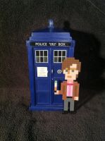 Eleventh Doctor Bead Sprite by DrOctoroc