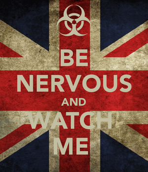 Be Nervous And Watch Me... by UnicornOfShadows