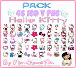 Pack De Iconos Hello Kitty by MinnieKawaiiTutos