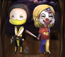 Commis: Scorpion and Myers by Novclow