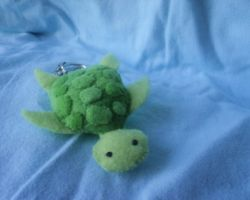 Little Turtle Keychain by XOFifi