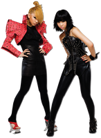 CL and Minzy Render by TrafficLightsx3