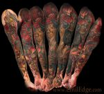 My Left sleeve by AtomiccircuS