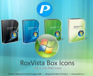 RoxVista Box Icons by guistyles Iconos para Windows XP