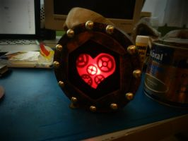 W.I.P. Steampunk Heart by Maroventolo