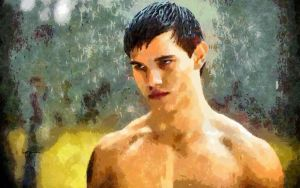 Jacob Black aka Taylor Lautner by RHuggs