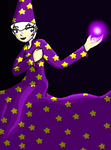 A wizard named Rose 1 by Jerena