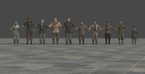 Call Of Duty Black Ops Models Pack by GGX-444