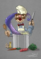 Chef Muppet by bluespottedfrog