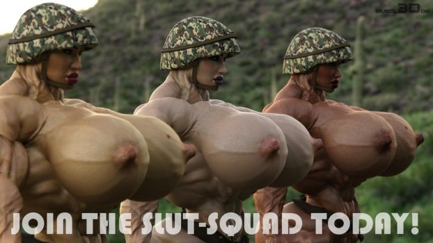 Join the Slut-Sqad today by muscl3Don