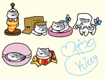 Neko Atsume: Kitty OC by Meimo15